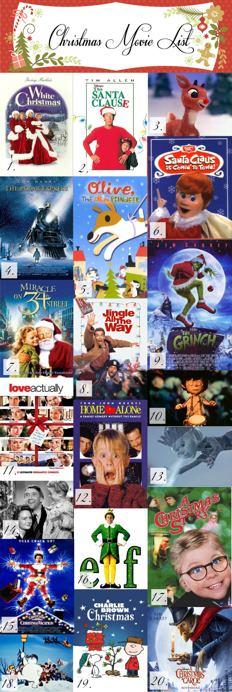 Livin Vintage 12 Classic Holiday Films Of Christmas - Old Christmas ...